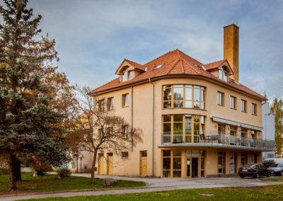 Fotografování exteriérů - Apartmány u zámku Český Krumlov