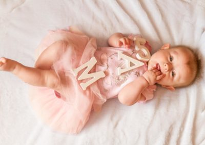 Portrétní fotografie děti - Annabellka 5 měsíců