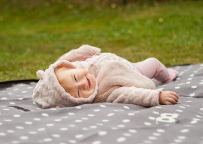Portrétní fotografie děti - Annabellka 8 měsíců