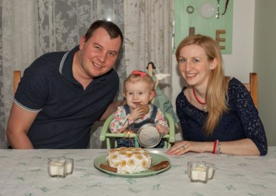 Portrétní fotografie rodina - Annabellka 1rok