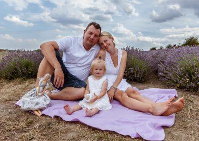 Portrétní fotografie rodina