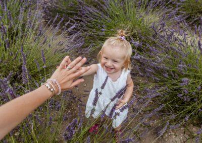Portrétní fotografie děti - Annabellka