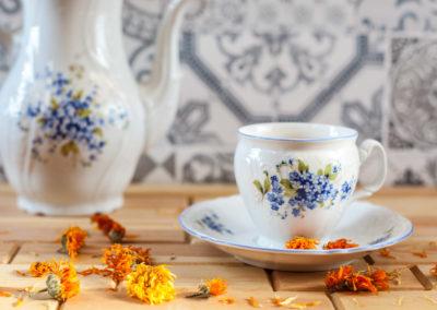 Produktová fotografie - Čaj z měsíčku lékařského