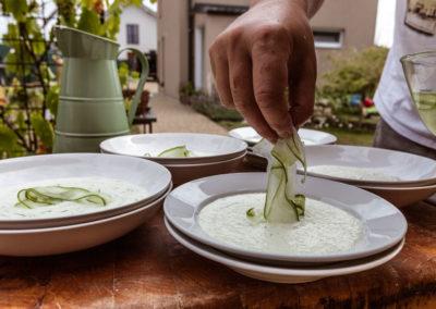 Produktová fotografie - Bytová restaurace Bylinková