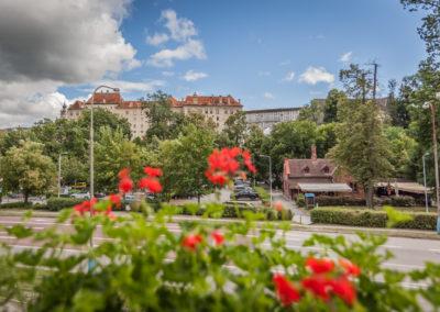 Fotografování exteriéru - Apartmány u zámku Český Krumlov