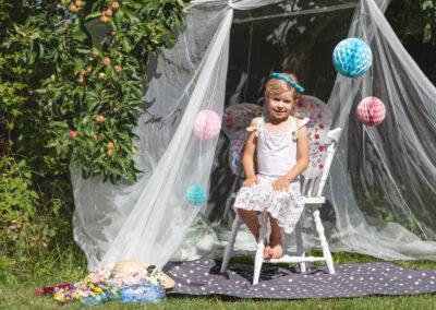 Fotografování dětí - vílí fotoateliér